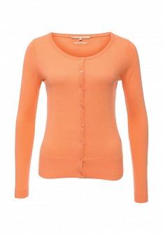 Женский оранжевый осенний кардиган