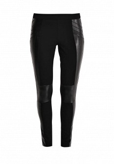 Женские черные брюки Silvian Heach