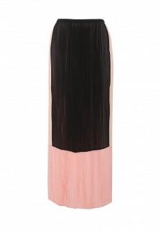 Розовая осенняя юбка Silvian Heach