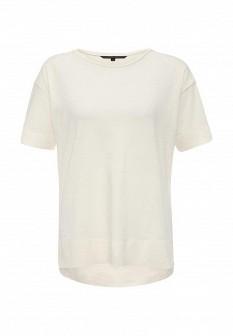 Женская бежевая футболка Silvian Heach