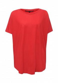 Женская красная футболка Silvian Heach
