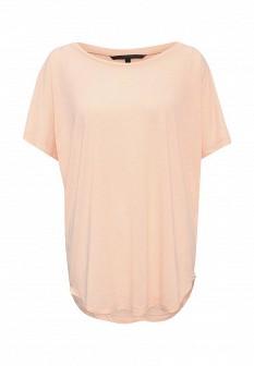 Женская оранжевая футболка