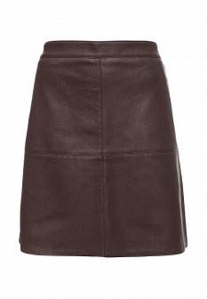 Коричневая юбка Sinequanone