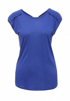 Женская синяя футболка Sinequanone