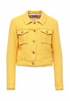 Женская желтая куртка Sinequanone
