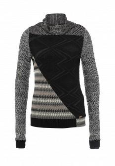 Женский серый осенний свитер