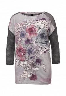 Серая осенняя блузка Smash