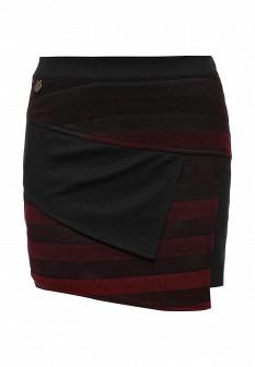 Черная осенняя юбка Smash