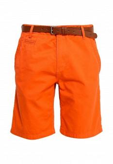 Мужские оранжевые шорты S.OLIVER