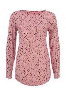 Розовая осенняя блузка S.OLIVER