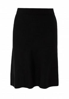 Черная осенняя юбка S.OLIVER