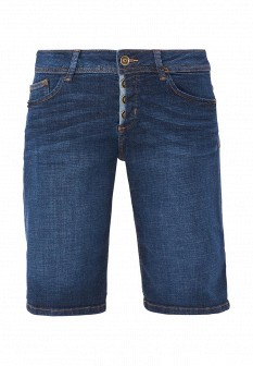 Женские синие джинсовые шорты