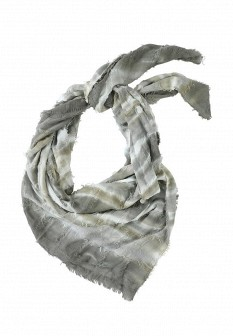 Женский серый шарф S.OLIVER