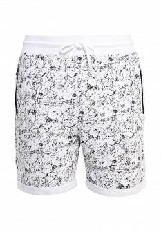 Мужские белые осенние спортивные шорты