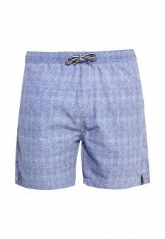 Мужские синие осенние шорты Solid