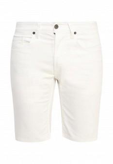 Мужские белые осенние джинсовые шорты