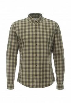 Мужская зеленая рубашка Solid