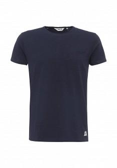 Мужская синяя футболка Solid