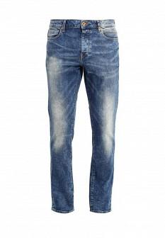 Мужские синие джинсы Solid