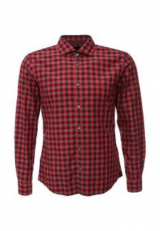 Мужская красная рубашка