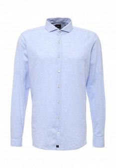 Мужская голубая рубашка Strellson