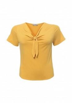 Женская желтая футболка