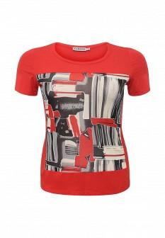 Женская красная футболка SVESTA