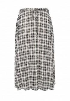 Белая черная осенняя юбка SVESTA
