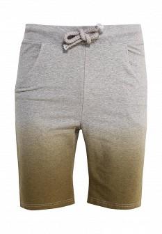 Мужские серые осенние спортивные шорты
