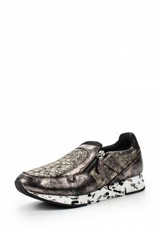 Женские осенние кожаные кроссовки
