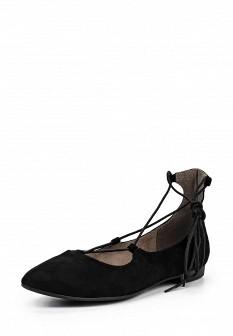 Женские черные туфли Tamaris