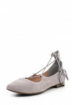Женские серые туфли Tamaris
