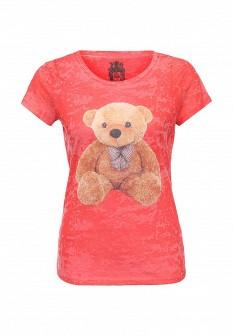 Женская красная футболка Taya