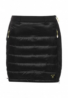 Черная осенняя юбка Tenson