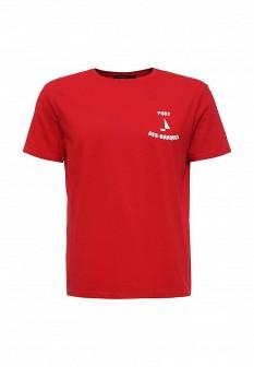 Мужская красная футболка TOM FARR