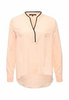 Оранжевая осенняя блузка