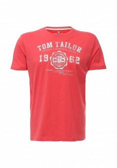Мужская коралловая футболка TOM TAILOR