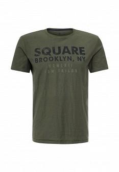 Мужская зеленая футболка TOM TAILOR