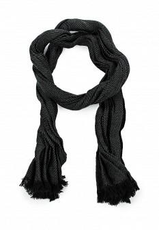 Мужской черный осенний шарф TOM TAILOR