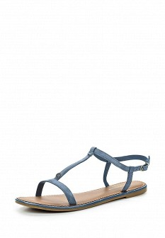 Женские синие сандалии Tommy Hilfiger