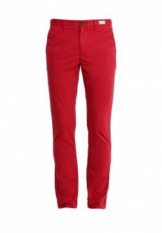 Мужские красные осенние брюки