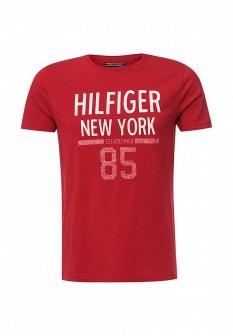 Мужская красная футболка Tommy Hilfiger