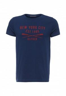 Мужская синяя футболка Tommy Hilfiger