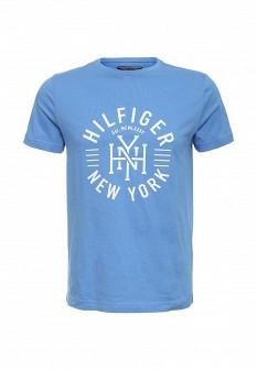 Мужская голубая футболка Tommy Hilfiger