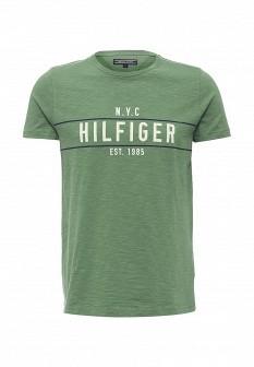Мужская зеленая футболка Tommy Hilfiger