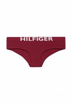 Женские бордовые трусы Tommy Hilfiger