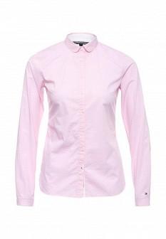 Женская розовая рубашка Tommy Hilfiger