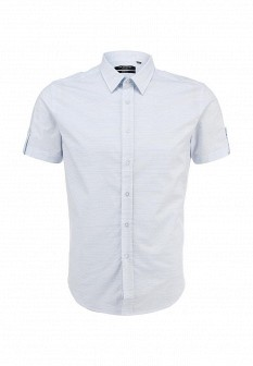 Мужская голубая рубашка Top Secret
