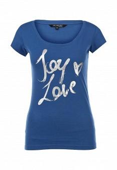 Женская синяя футболка Top Secret