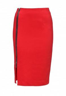 Красная юбка Top Secret